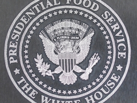Ace Laser Tek laser mark of Presidential Food Service logo
