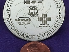 Ace Laser Tek laser mark of steel badge