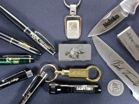 Ace Laser Tek laser marking of Promotional Products