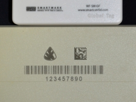 Ace Laser Tek laser mark of Plastic RFID Tags