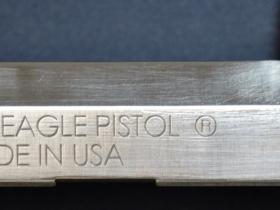 Ace Laser Tek laser engraving of .45 Cal. Pistol