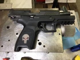 Gun Engraving of Punisher