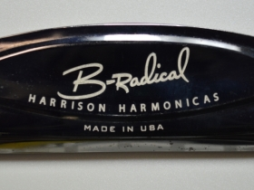 Ace Laser Tek laser mark on Harmonica